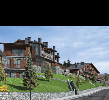 5 Houses and 5 Apartments in La Molina, Pyrenees